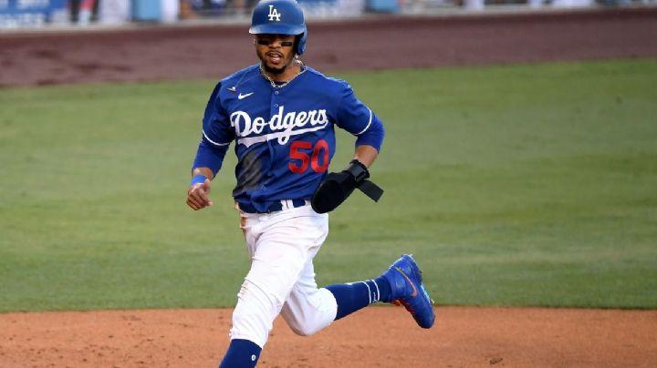 Duro golpe a los Dodgers; Mookie fuera de la alineación tras recibir un pelotazo