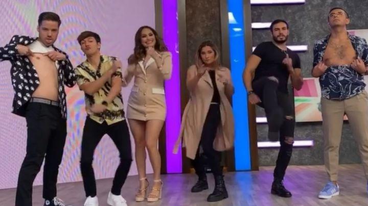 VIDEO: Mati Álvarez quita el lugar a Cynthia Rodríguez y conquista a todo TV Azteca con este baile