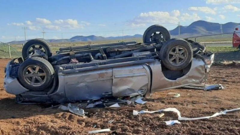 Se vuelca camioneta y mueren 4 mujeres en Chihuahua; viajaban a exceso de velocidad