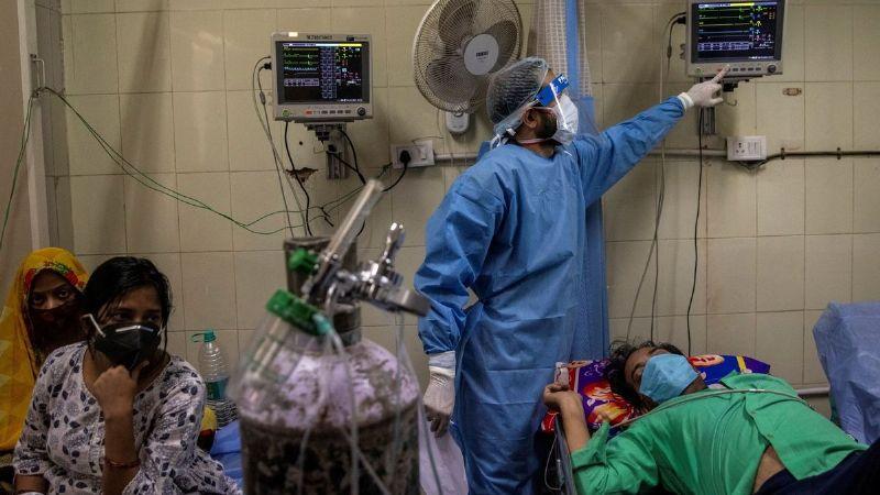¡Horror en India! Estas son las FUERTES IMÁGENES que ha dejado la variante 'doble mutante'