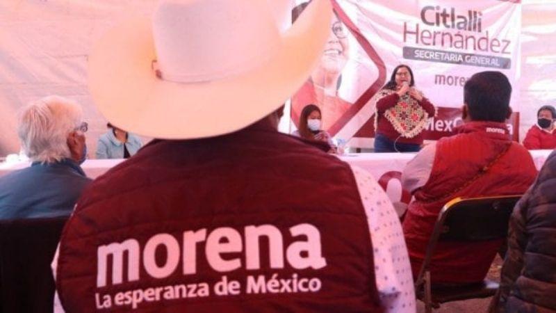 """Morena vs INE: El partido de AMLO asegura que buscan frenar la 4T e """"intentan silenciar al presidente"""""""