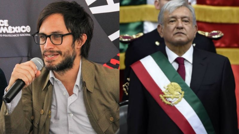 """Critican a Gael García por estar decepcionado del Gobierno de AMLO: """"Esperaba más"""""""