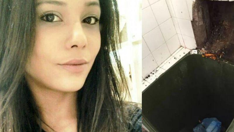 """¡Monstruo! Ana Carolina asesina y tira a la basura a su hija recién nacida porque """"no la quería"""""""