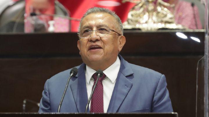 Cancelan derechos políticos del diputado de Morena, Benjamín Saúl Huerta