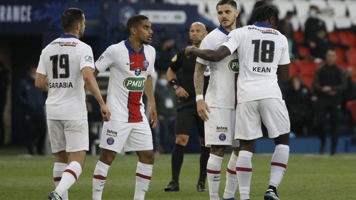Mauro Icardi y Neymar comandan al PSG en la goleada en contra del Angers