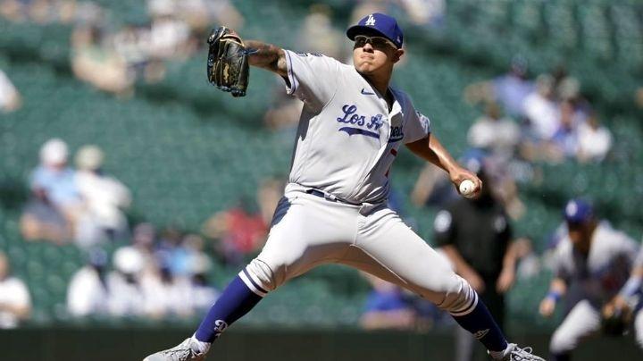 Julio Urías luce cada vez más eficiente con los Dodgers de Los Ángeles