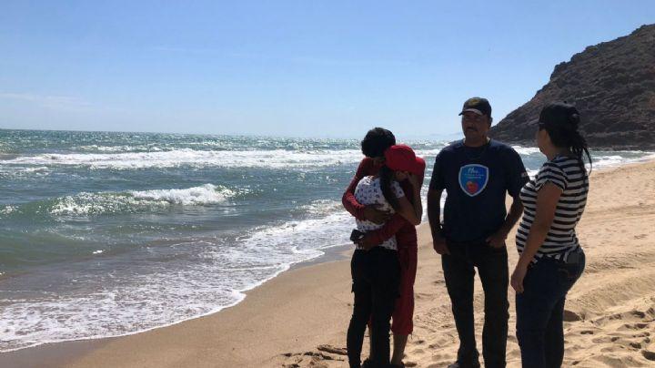 Valentín salió a navegar en el mar de Bahía de Kino y no regresó; desconocen su paradero