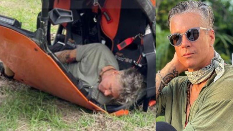 """Tunden a actor de Televisa por """"posar"""" para la cámara tras sufrir aparatoso accidente: """"Ridículo"""""""