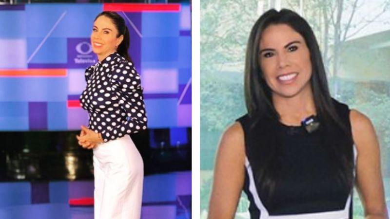 Paola Rojas luce pierna con coqueta faldita en Televisa y hace enloquecer a Instagram