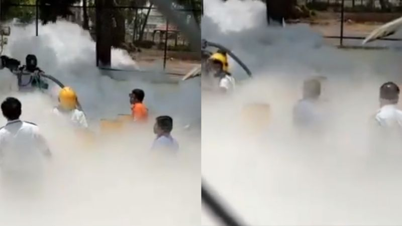 VIDEO: Pacientes graves de Covid-19 se quedan sin oxígeno; hubo una fuga en la India