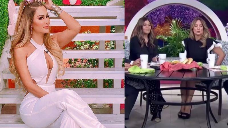 """""""Mejor sola"""": Andrea Legarreta manda 'recado' a Ninel Conde tras arresto de Larry Ramos en 'Hoy'"""
