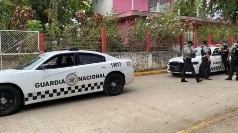 Tiroteo en Veracruz: Sujetos armados disparan contra agentes de la Guardia Nacional