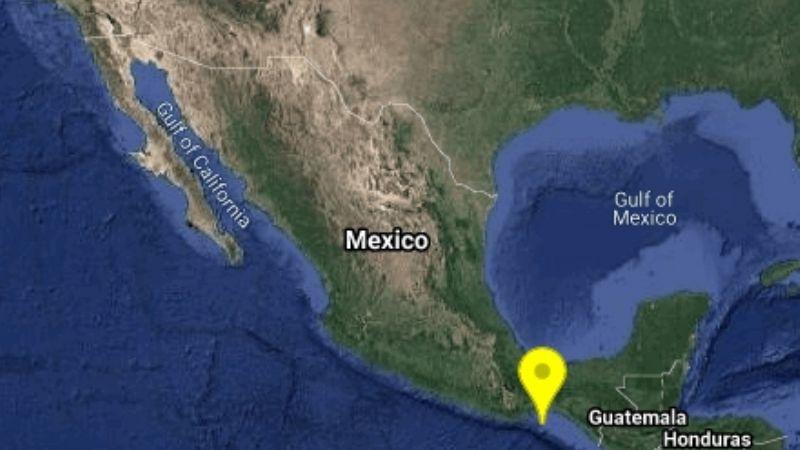 Reportan sismo de magnitud 4.0 con epicentro en la ciudad de Salina Cruz, Oaxaca