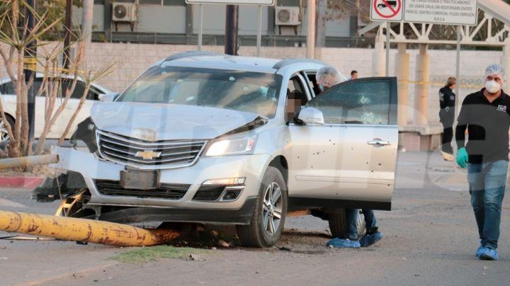 Con ráfagas de AK-47, masacran a hombre dentro de camioneta al sur de Ciudad Obregón