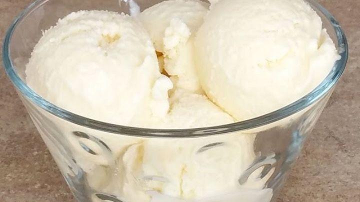 Dile adiós al calor de la temporada con este rico helado de piña; es ideal para diabéticos