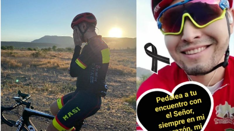 Consterna a comunidad asesinato de joven ciclista en Ciudad Obregón; fue víctima colateral