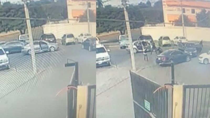 VIDEO: A plena luz del día, comando armado 'levanta' a hombres frente a gimnasio en Ciudad Obregón