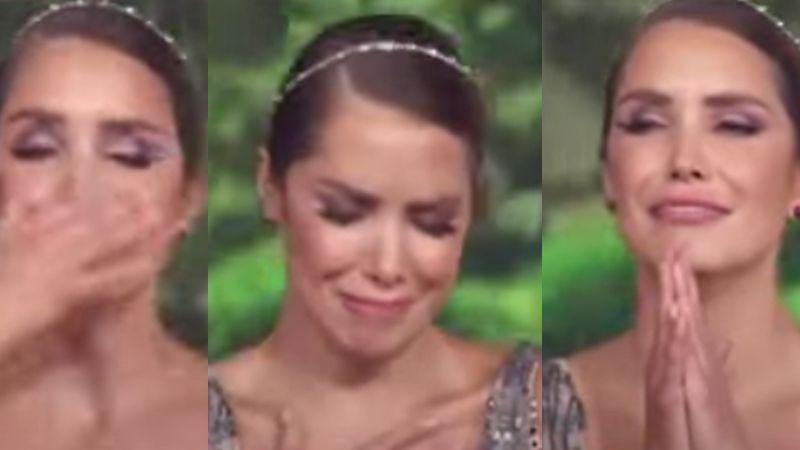 ¡Andrea Escalona se 'rompe' en 'Hoy'! Televisa le entrega mensaje de Magda Rodríguez en vivo