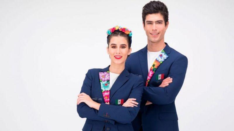 Revelan vestimenta que portará México en inauguración los Juegos Olímpicos