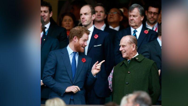 Príncipe Harry le rinde homenaje al Príncipe Felipe en El Día de la Tierra