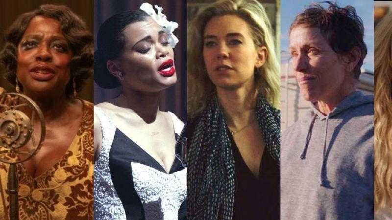 Rumbo a los Premios Oscar 2021: Artistas nominadas a la categoría de 'Mejor actriz'