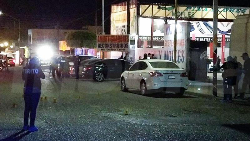 Ciudad Obregón bajo fuego: Pistoleros rafaguean taller mecánico en la Constitución