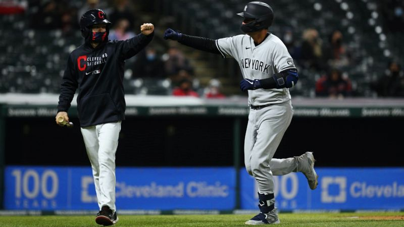 Los Yankees de Nueva York se acuerdan de ganar y sacan el triunfo ante los Indios de Cleveland