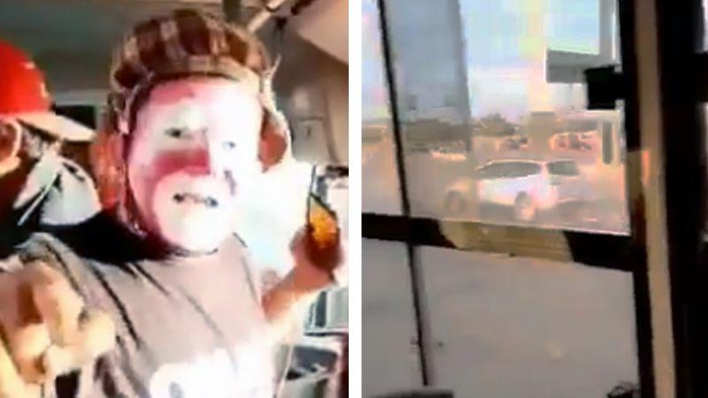 VIDEO: Acto de payaso es abruptamente interrumpido por fuerte balacera en Ciudad Obregón