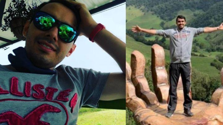 Él era Jorge Felipe, deportista de 25 años que murió apuñalado por evitar que violaran a su novia