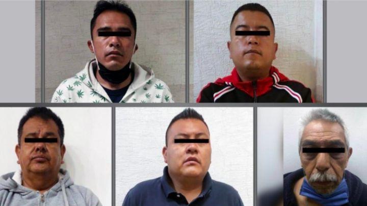 Fiscalía del Edomex detiene a 5 por secuestro exprés; 4 son policías municipales