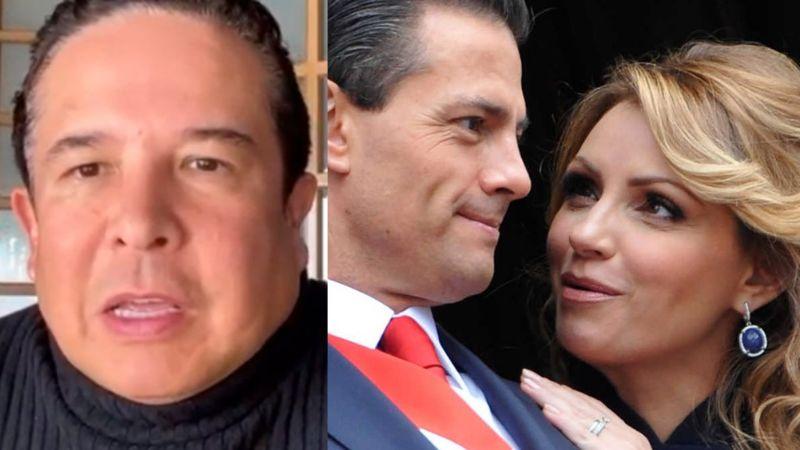 Gustavo Adolfo Infante traiciona a Angélica Rivera y destapa cómo Peña Nieto le puso el cuerno