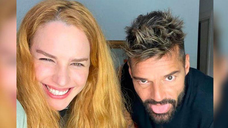 ¡Se desata polémica! Ricky Martin aparece en FOTO junto a la que sería madre de sus hijos