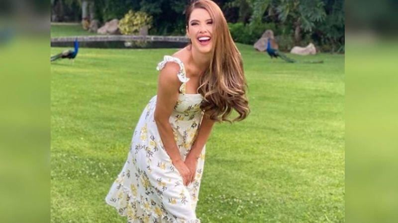 Marlene Favela enloquece Instagram con FOTO en la naturaleza; luce jeans y colorida blusa