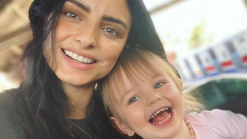 ¿Desobediente? Hija de Aislinn Derbez causa ternura al 'desairar' a la actriz en VIDEO