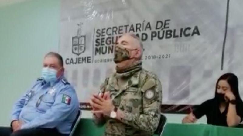 VIDEO: Director de Seguridad Pública de Cajeme arremete contra los medios y los culpa de la violencia