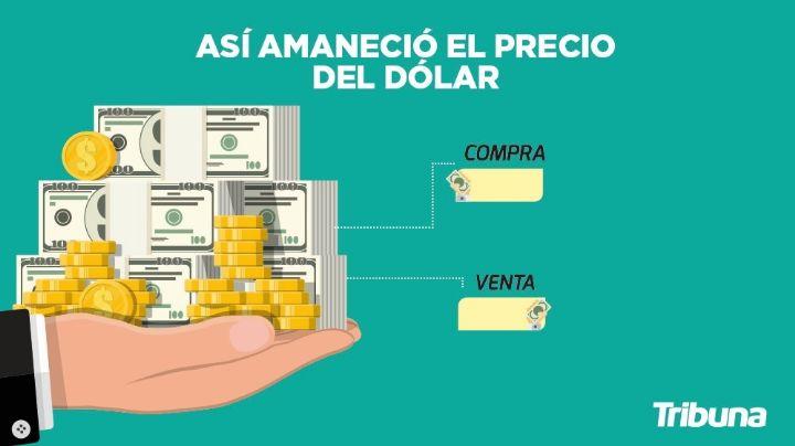 Precio del dólar hoy en México: Este es el tipo de cambio de este domingo 11 de julio
