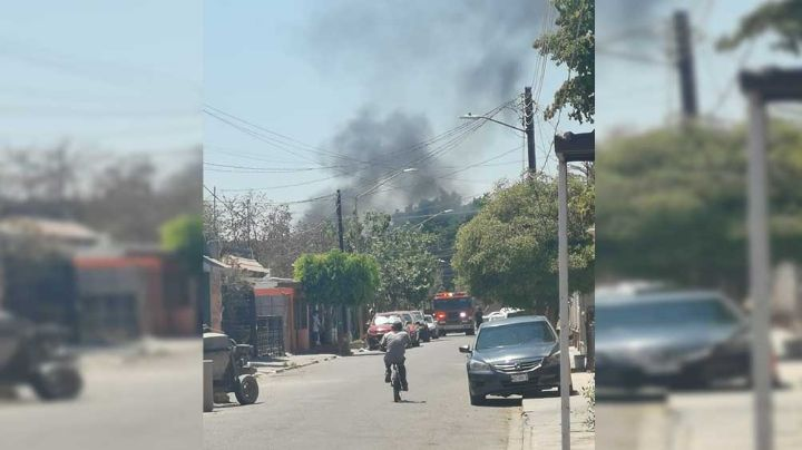 Cajeme: Fuerte incendio aterroriza a vecinos de la colonia Constitución