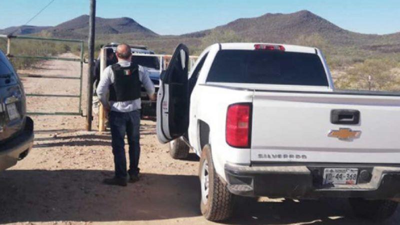 Sonora: Confirman identidades de padre e hijo ejecutados y calcinados tras masacre en rancho