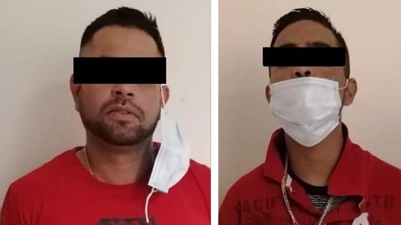 Atrapan a dos presuntos sicarios al norte de Ciudad Obregón; llevaban un arma de alto poder