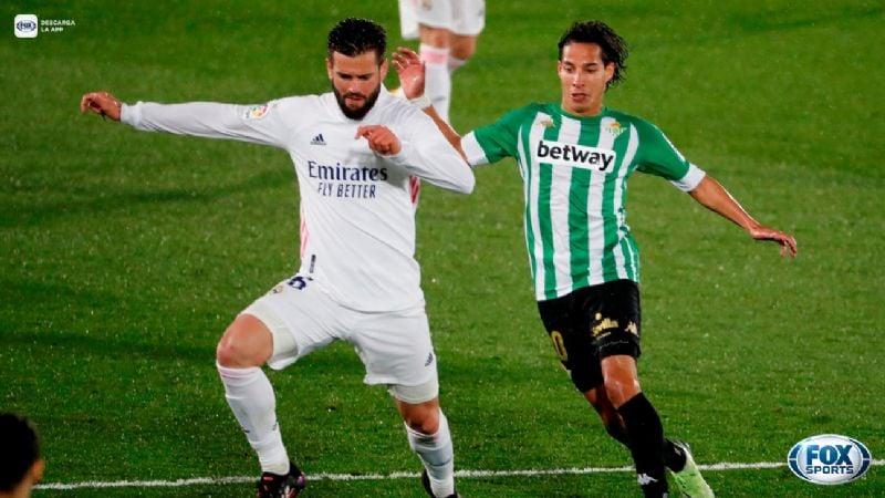 Resbala el Madrid; empata en casa ante el Betis y deja escapar dos valiosos puntos