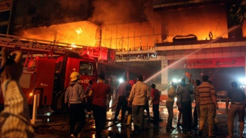 ¡Tragedia en Bagdad! Mueren 5 tras voraz incendio en hospital para pacientes con Covid-19