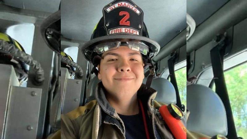 ¡Tragedia! Efrén Medina muere en su primera guardia como elemento del cuerpo de bomberos