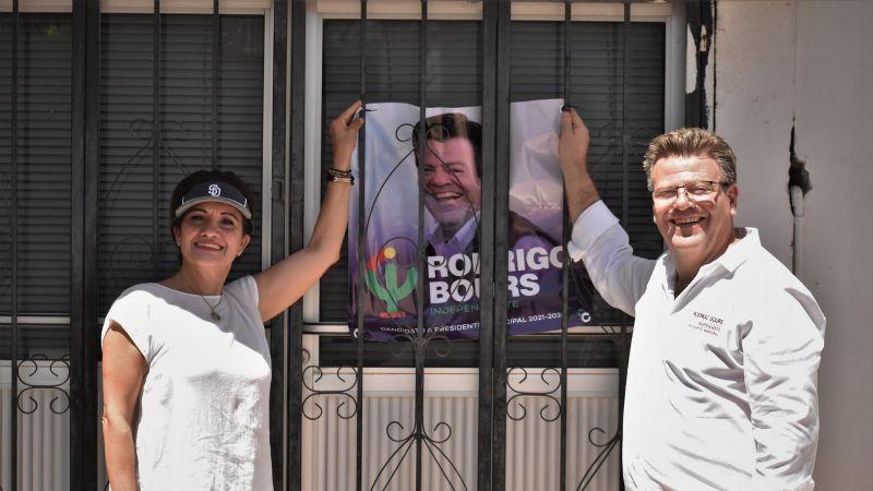 Elecciones 2021: Rodrigo Bours priorizará atención a colonias y seguridad en Cajeme