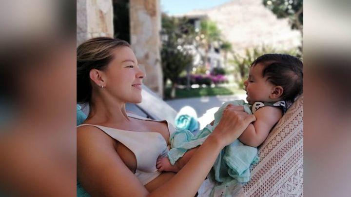Fernanda Castillo comparte tierna FOTO junto a su bebé y cautiva a su fans en Instagram
