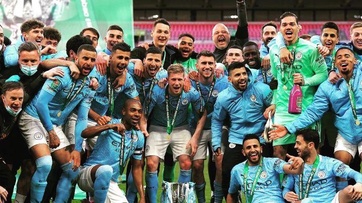 ¡Rey de copas! Manchester City es campeón de la Copa de la Liga por cuarta vez consecutiva