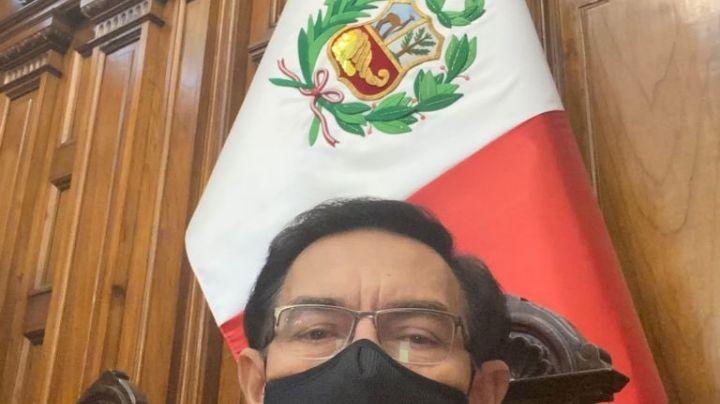 Martín Vizcarra, expresidente de Perú, da positivo a Covid-19 pese a haberse vacunado