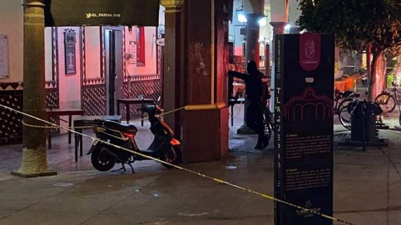 Jalisco: Sicarios acribillan a clientes en famoso restaurante del Parián en Tlaquepaque; uno muere