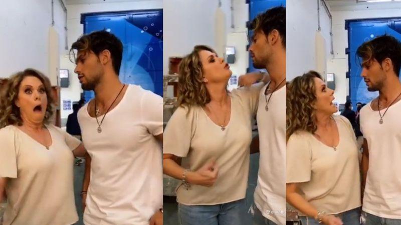 ¡Pleito en Televisa! Érika Buenfil confronta a guapo actor y lo cachetea