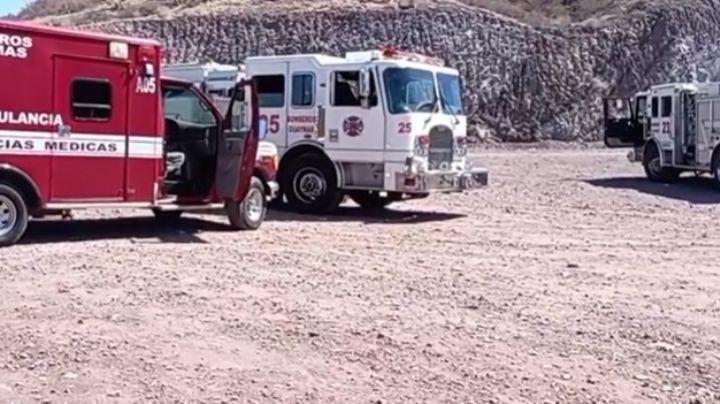 Persona extraviada en Estero el Soldado moviliza a Seguridad Pública y Bomberos