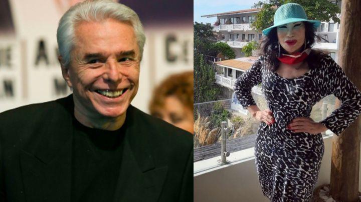 """""""Es respetuoso"""": Lyn May defiende a Enrique Guzmán de acusaciones de Frida Sofía"""